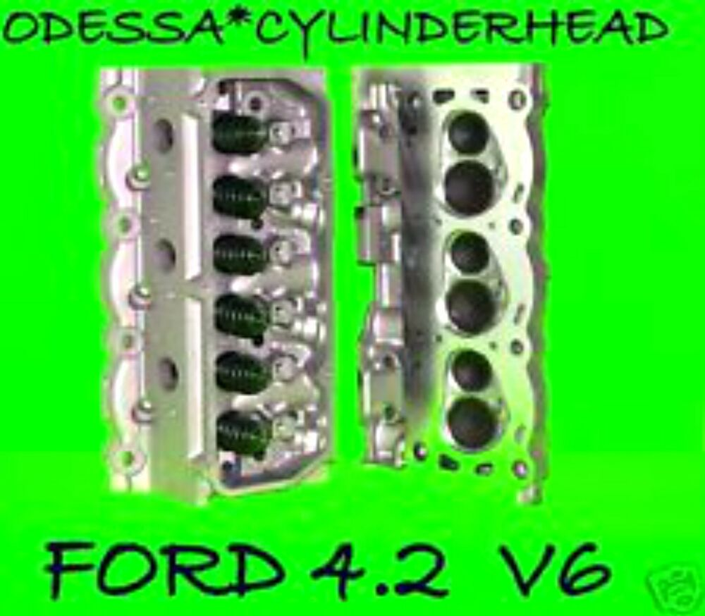 Ford F150 Taurus Sable 4 2 Ohv Cylinder Heads Rebuilt No