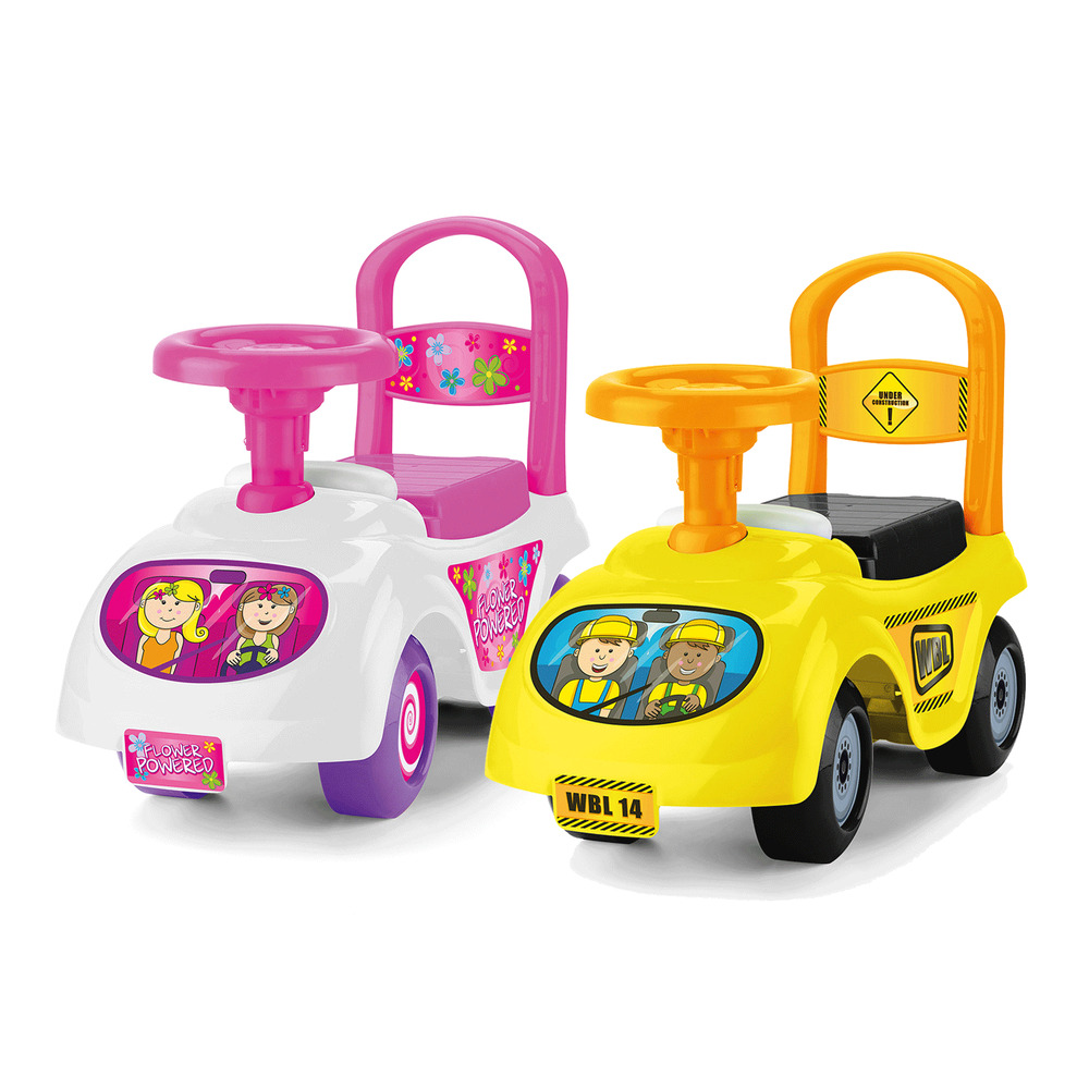 Toddler Toys Cars : Toddler ride on car vehicle infant childrens push along