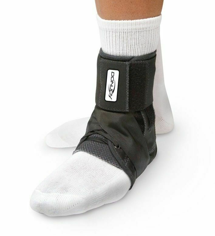 donjoy stabilizing pro ankle brace black athletic ankle