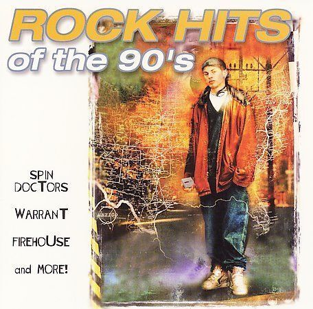 Rock hits of the 90 39 s various artists music cd 79893014821 for 90 s house music artists