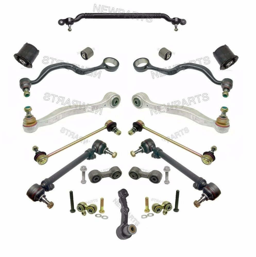 bmw e34 m5 complete control arm kit lemforder brand new