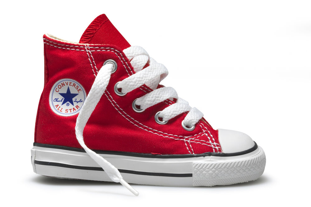 Converse Chuck Taylor Hi Top Red White Infant Toddler Boy