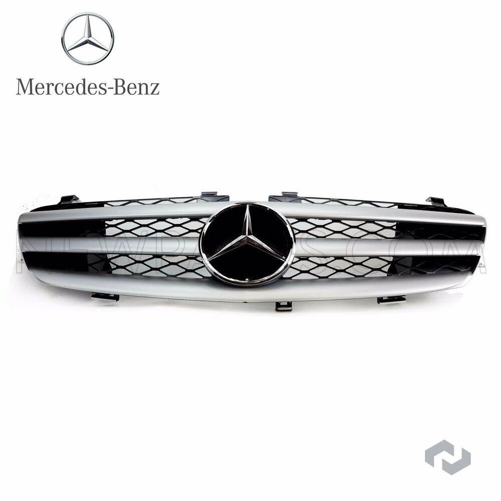 Mercedes r class genuine front grille assembly r320 r350 for Mercedes benz r500 review