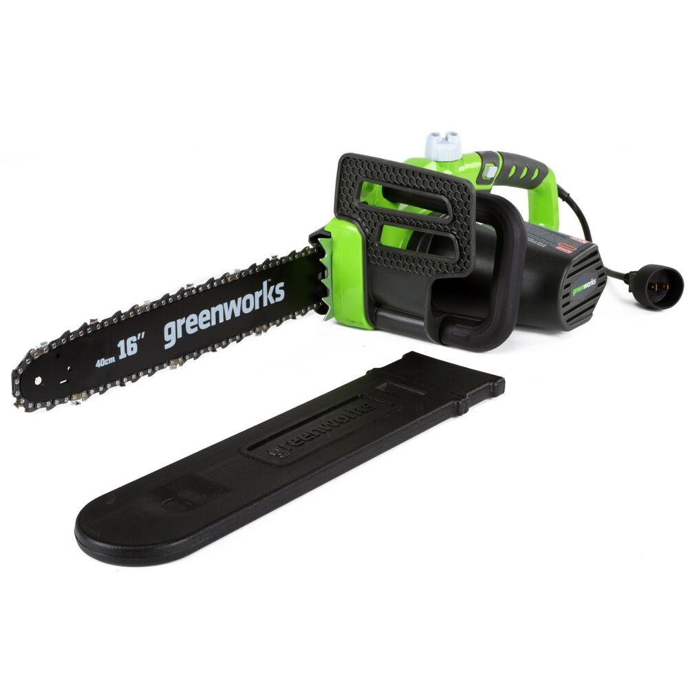 Greenworks 20232 Corded Electric 12 Amp 16 Inch Chainsaw