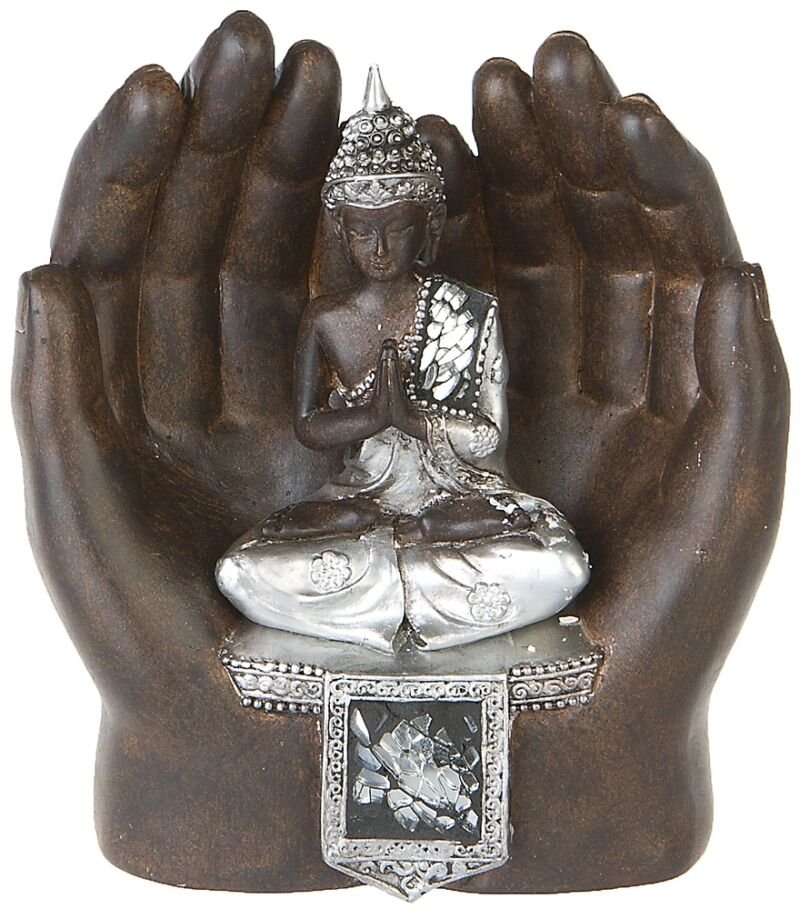 thai buddha in h nden deko figur feng shui skulptur budda. Black Bedroom Furniture Sets. Home Design Ideas