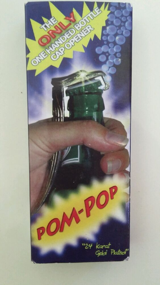 Pompop One Handed Bottle Cap Opener Ebay