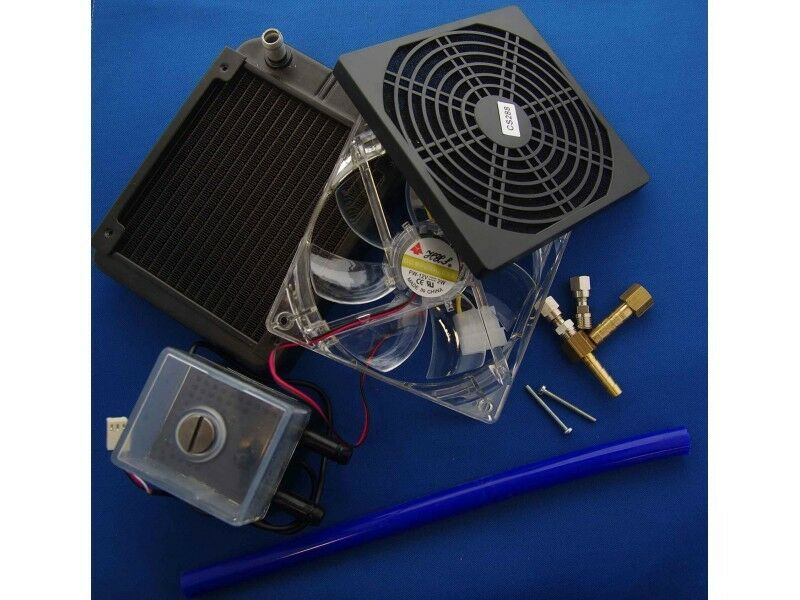 Induction Heater Water Cooling Kit System Cool Water
