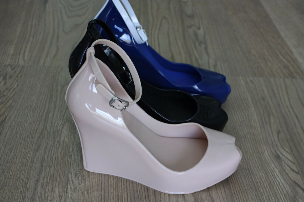 Red High Heel Shoes With Ankle Strap