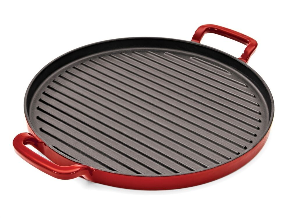 tuffsteel cast iron grill plate skillet pan fry frypan. Black Bedroom Furniture Sets. Home Design Ideas