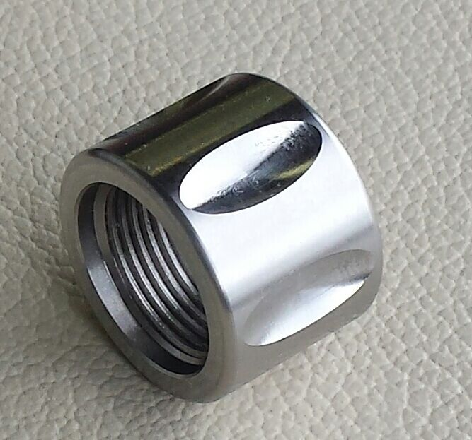 Xp fluted stainless thread protector