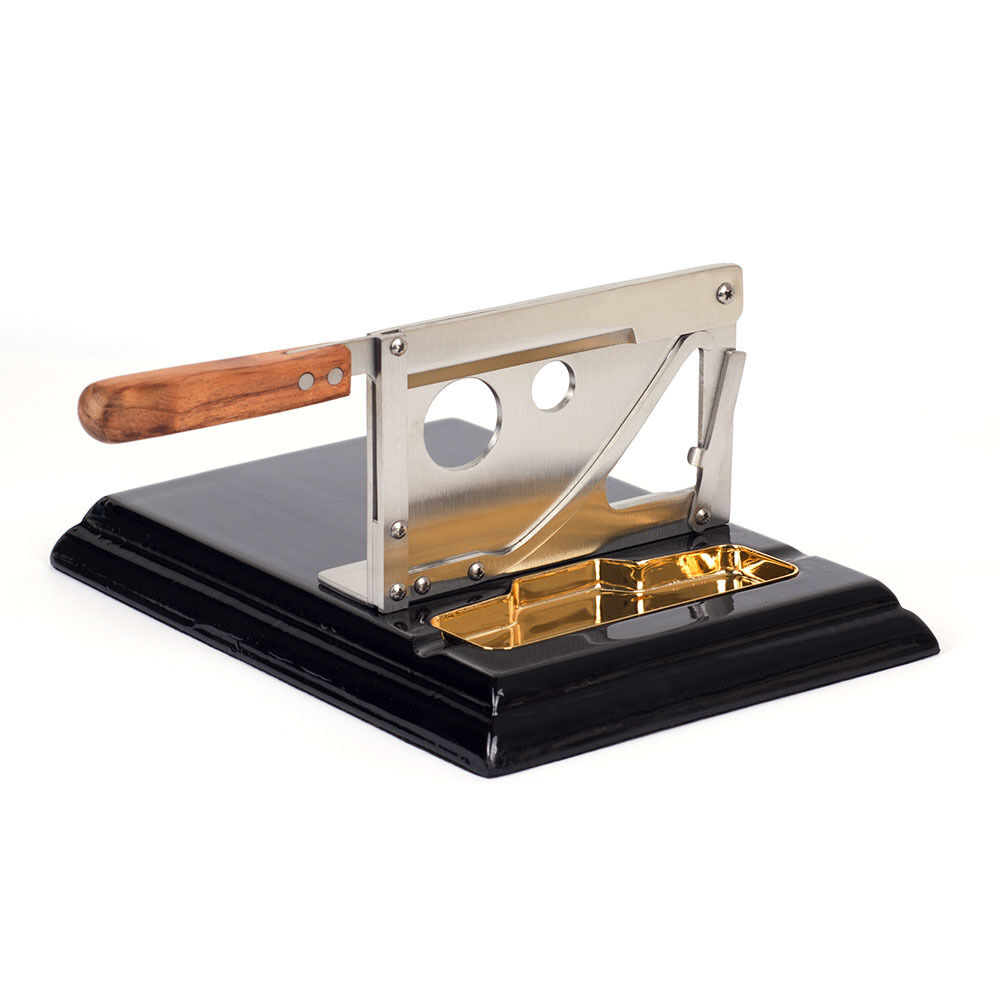 New Stainless Steel Table Top Guillotine Cigar Cutter