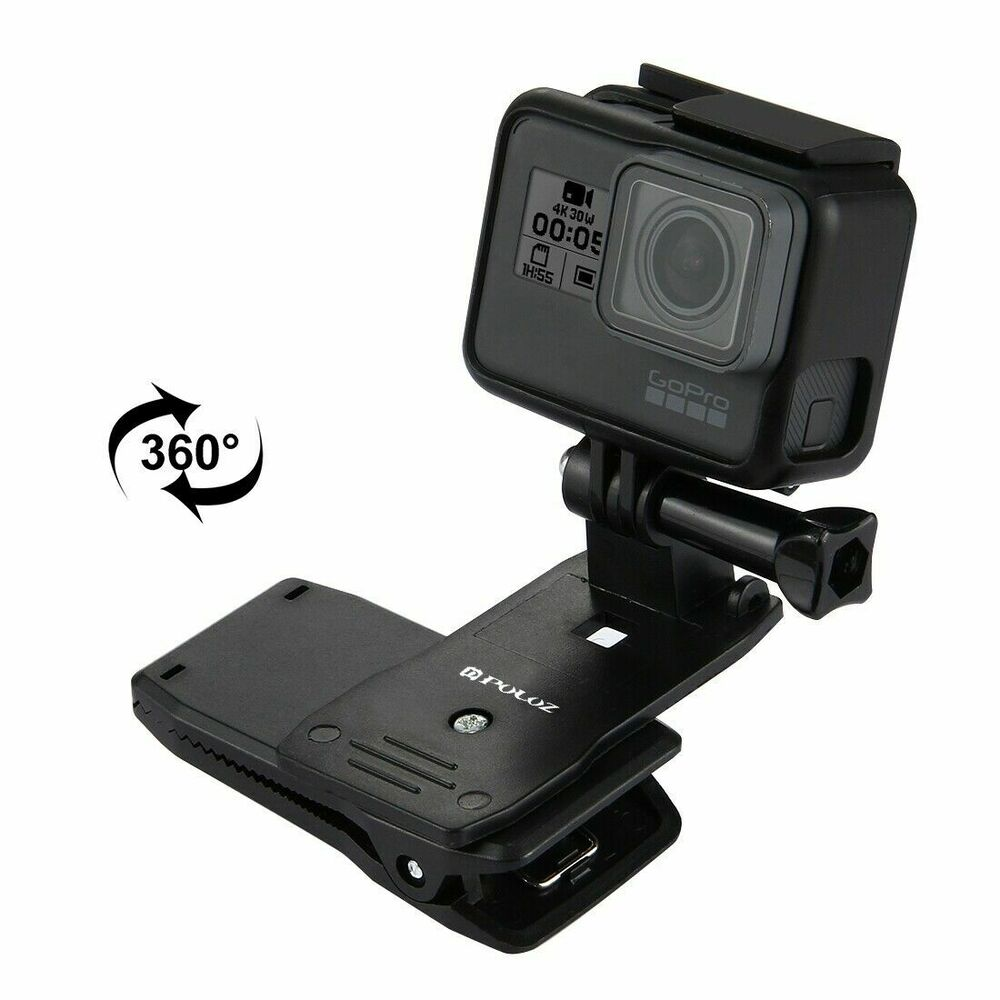 how to open gopro clamp