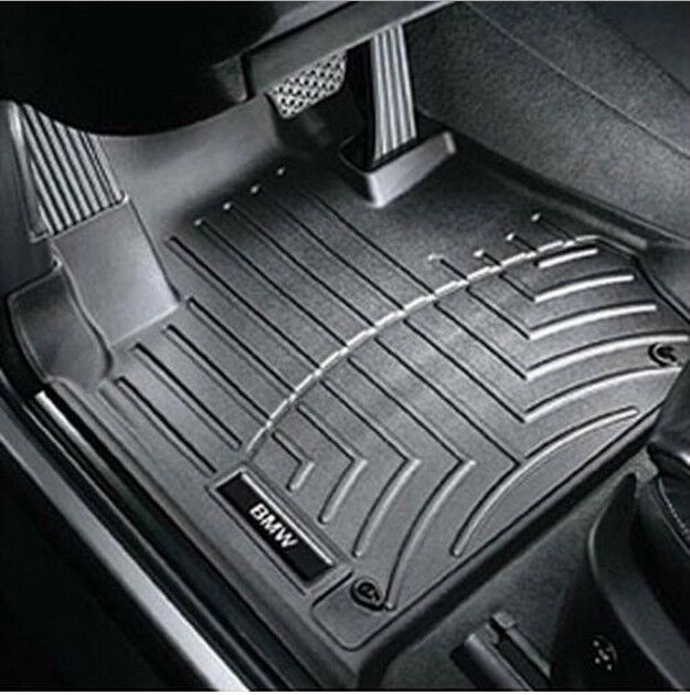 Bmw 2007 2014 X6 Floor Liners Black Front Set Protection