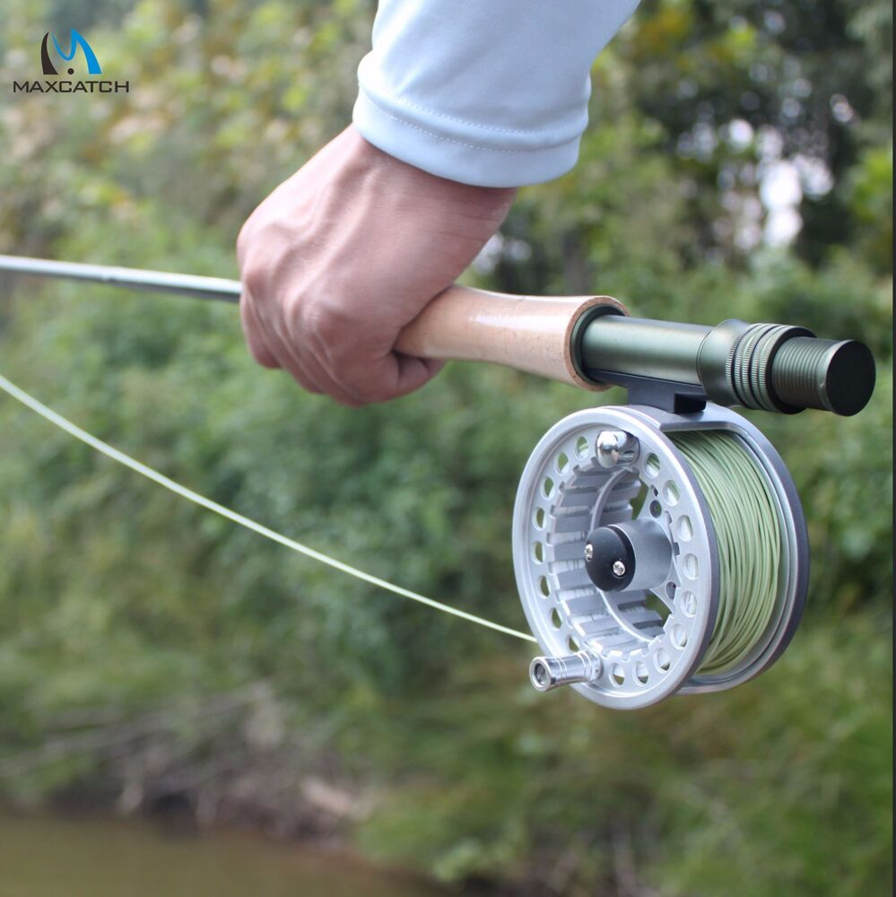 9ft fly fishing rod and fly reel combo 5 6 7 8wt medium for Fly fishing combos