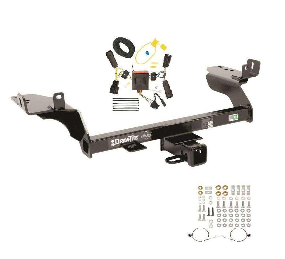 2013 ford escape trailer wiring 2008 ford escape trailer wiring diagram lihgts fits 2013-2016 ford escape class 3 trailer hitch & wiring ...