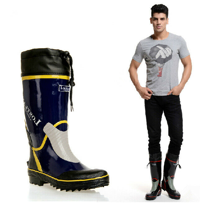New Top Quality Men 39 S Fashion Rain Boots Fishing Wader