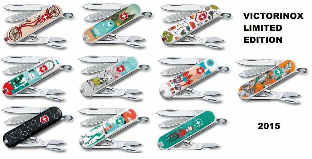 Lot Of 10 New Victorinox Swiss Army Knives Classic Sd 2015