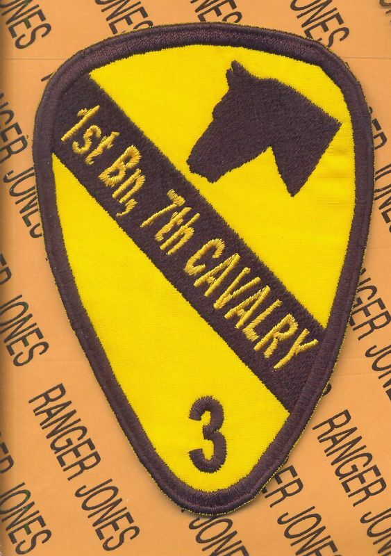 1st Bn 7th CAVALRY 1st...1st Cavalry Patch For Ar15
