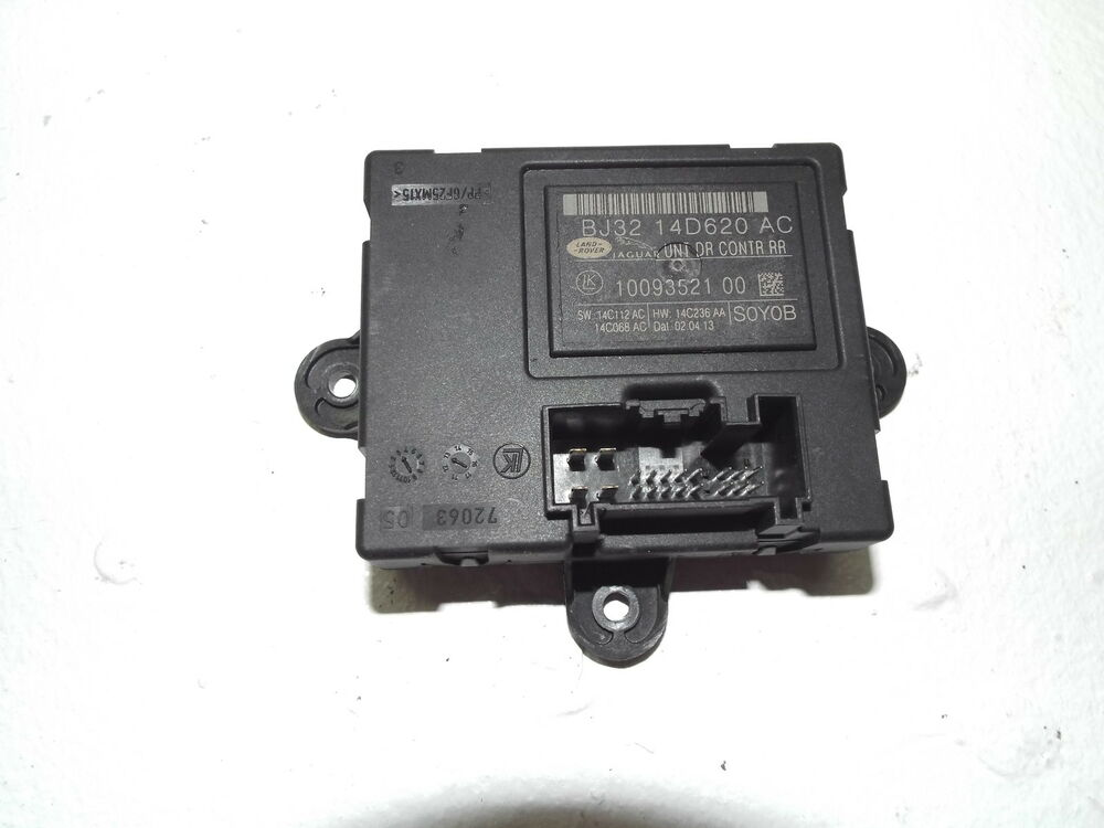 Range rover evoque door control module rear bj32 14d620 ac for 01333 door control module