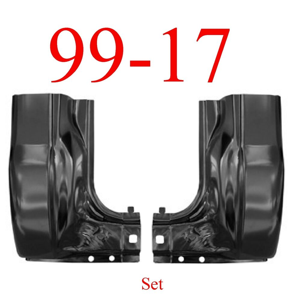 99 10 Ford Super Duty LARGE Cab Corner Set Regular & Crew