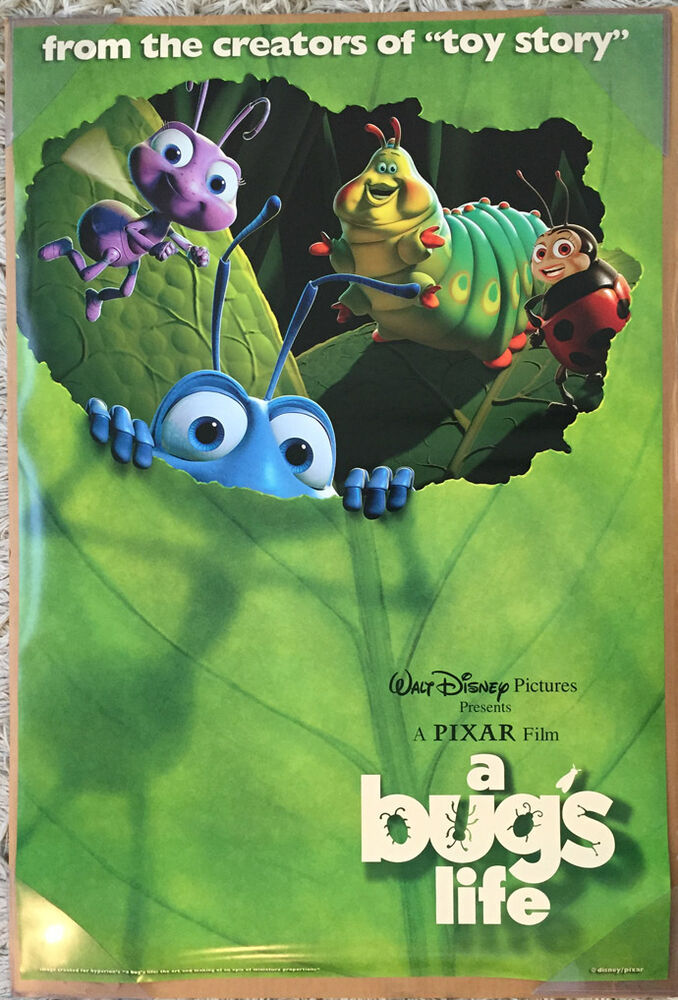 It is a photo of Exceptional A Bug's Life Poster
