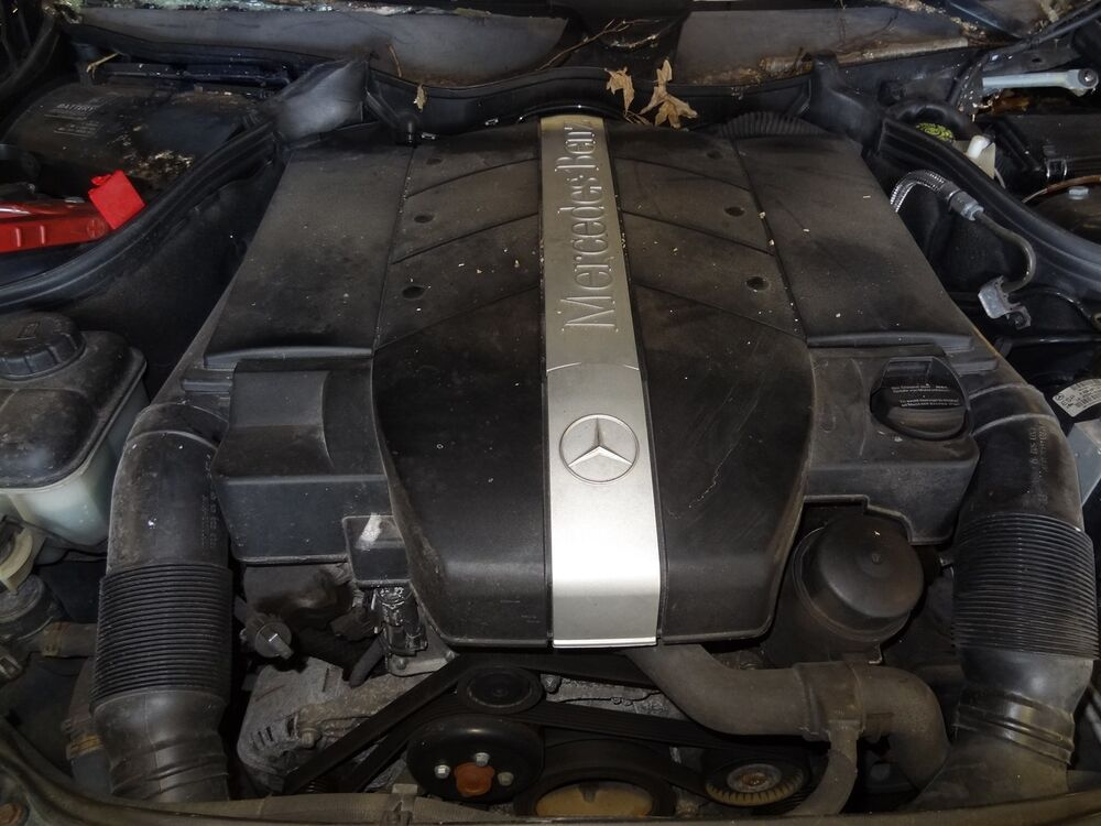 Engine 2004 mercedes benz c240 2 6l motor awd with 93 686 for Ebay motors mercedes benz