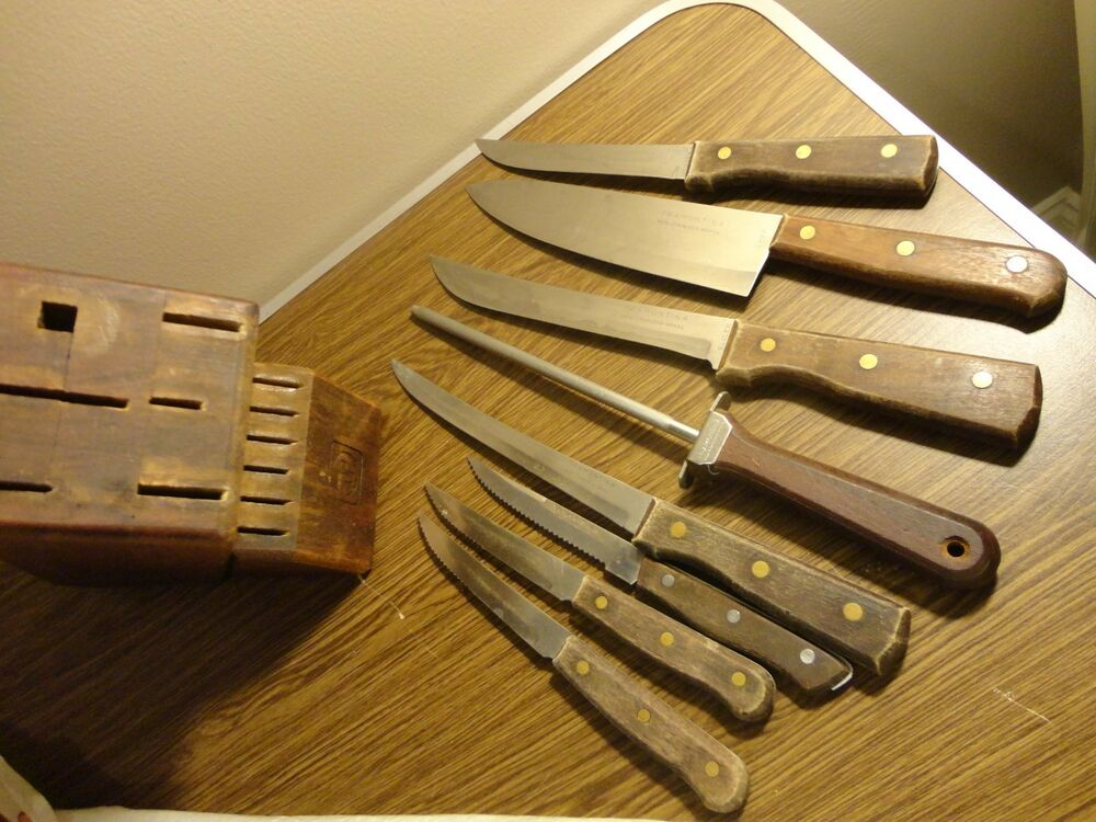 how to clean stainless steel knives