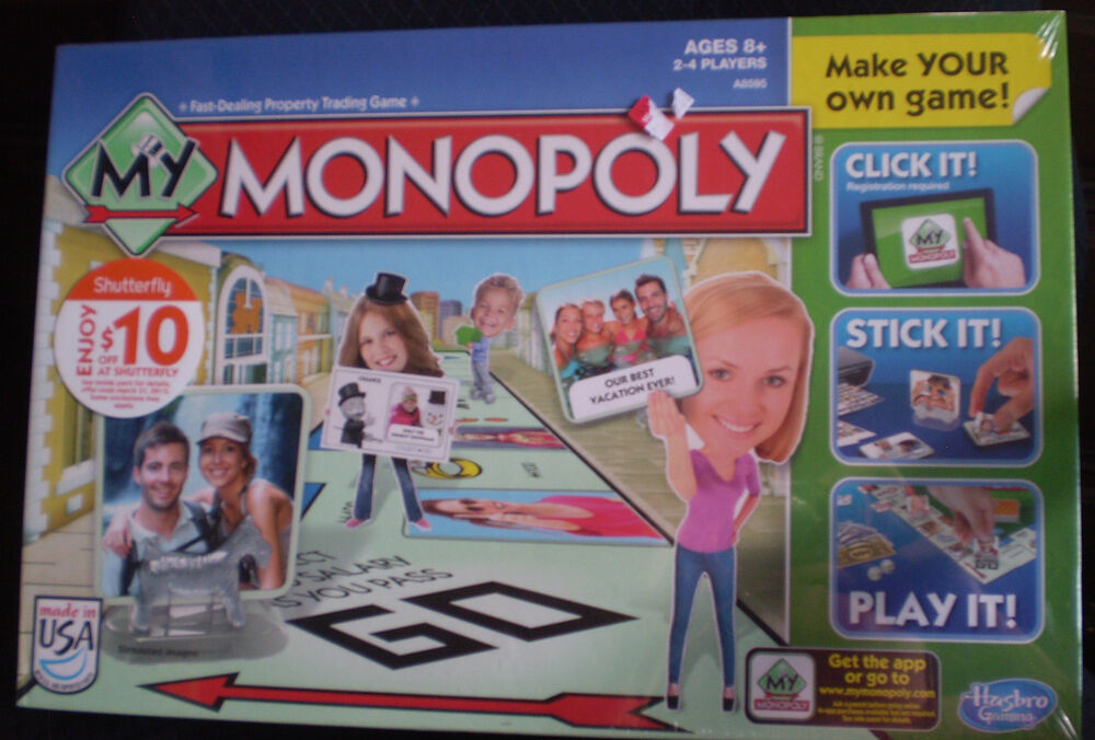 My monopoly game make your own monopoly game new ebay Build your own house online game