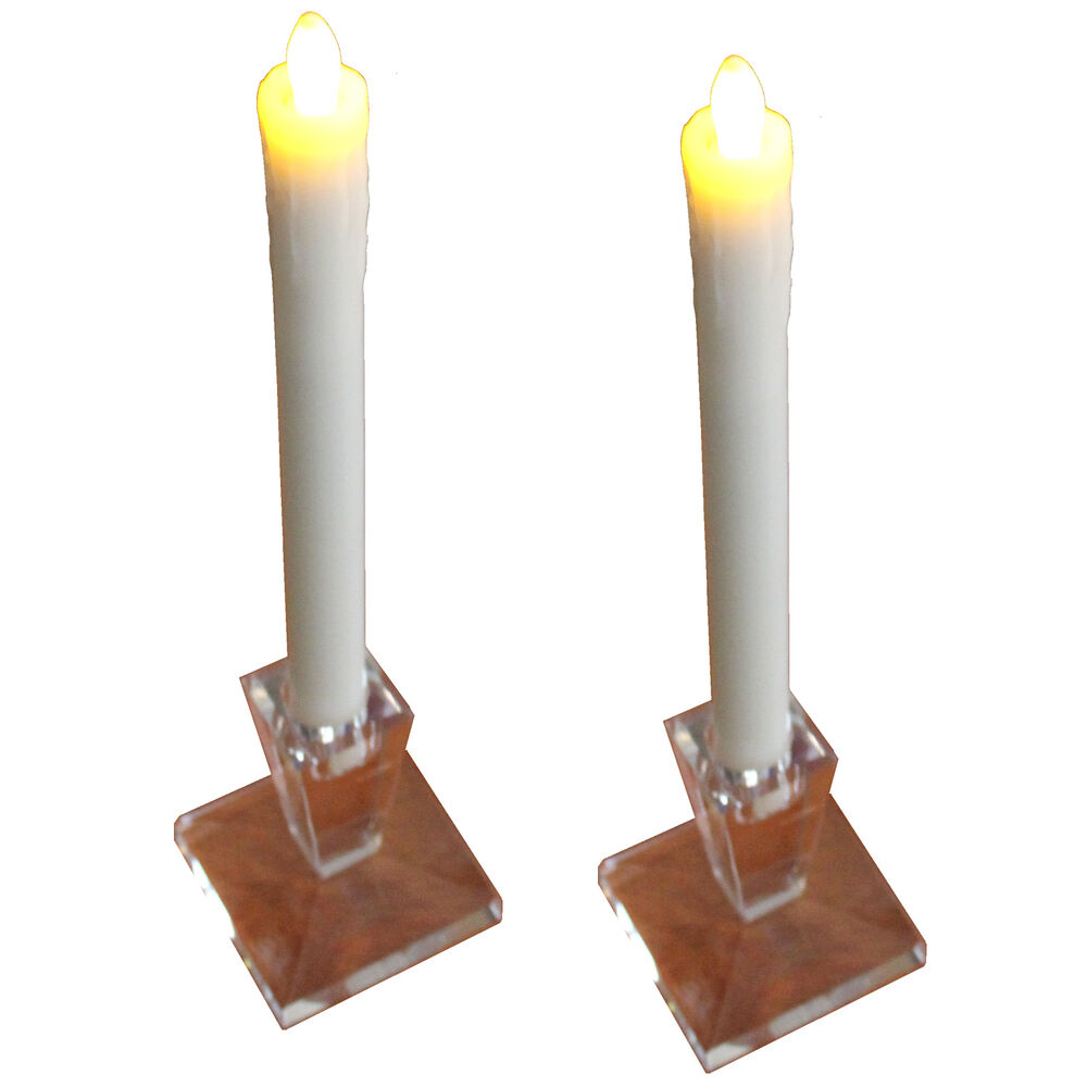 LED CANDLE 9in Ivory Flameless EMERGENCY STORM HURRICANE BATTERY POWERED CANDLES eBay