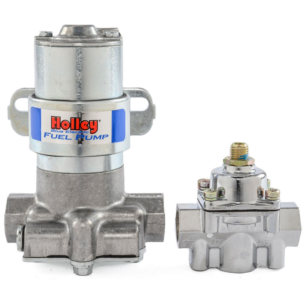 Holley 12 802 1 Blue 110 Gph Electric Fuel Pump Autos Post