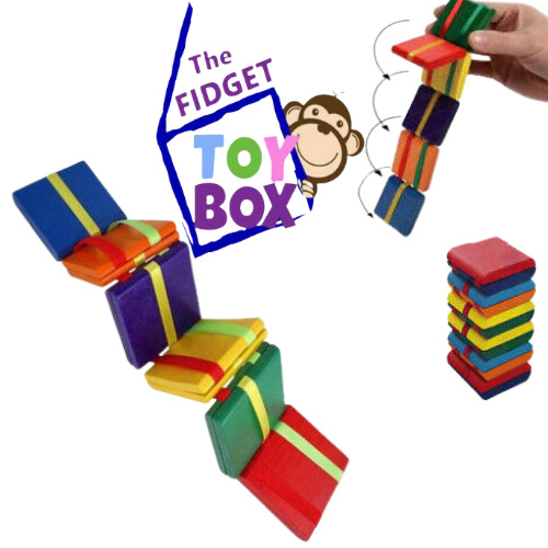 Autism Therapy Toys : Jacobs ladder sensory silent classroom hand fidget toy
