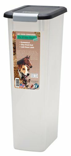 New Pet Food Storage 25 Lb Fresh Dog Cat Container Box