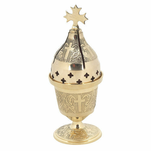 Orthodox Hanging Vigil Lamp: High Quality Brass Standing Vigil Oil Lamp Byzantine