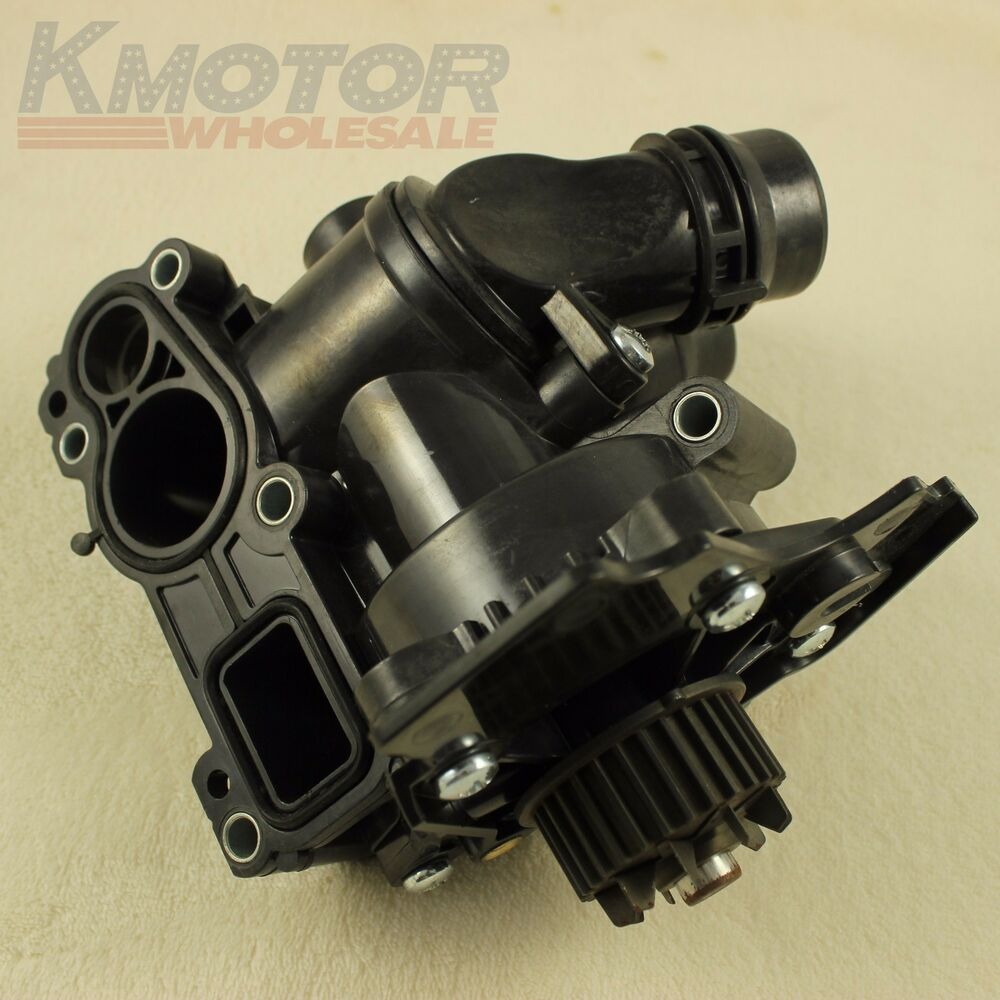 new water pump thermostat assembly for vw golf jetta gti passat tiguan 2 0t 1  8t ebay Volkswagen 2.0 Engine Diagram VW 1.8T Engine Diagram