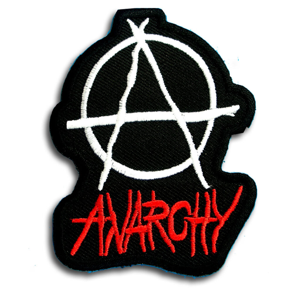 Punk anarchy patch iron on band biker punk heavy metal rider music punk anarchy patch iron on band biker punk heavy metal rider music symbol sign ebay buycottarizona Gallery