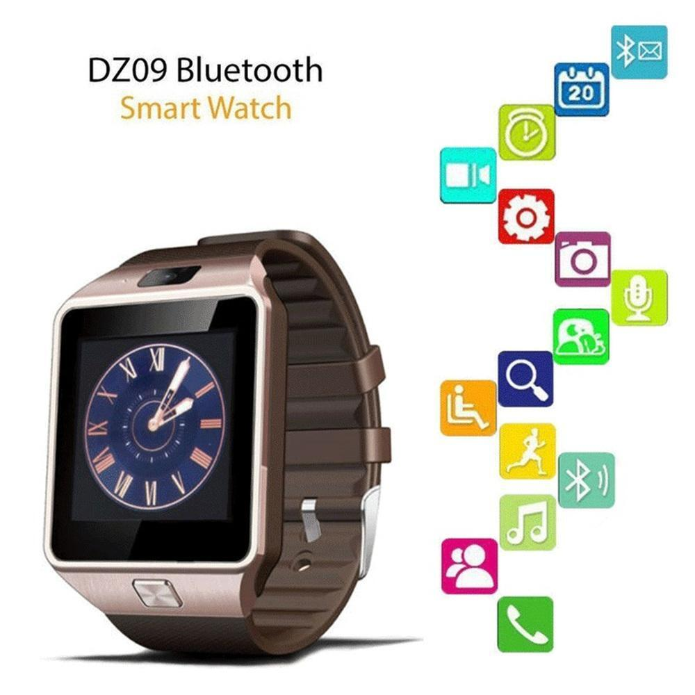 bluetooth watch for iphone bluetooth smart dz09 gsm sim call for iphone samsung 13693