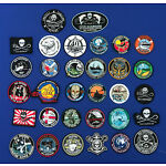 Sea Shepherd Campaign Patches Logo's, 2 new ones added Sola Stella, M Debris