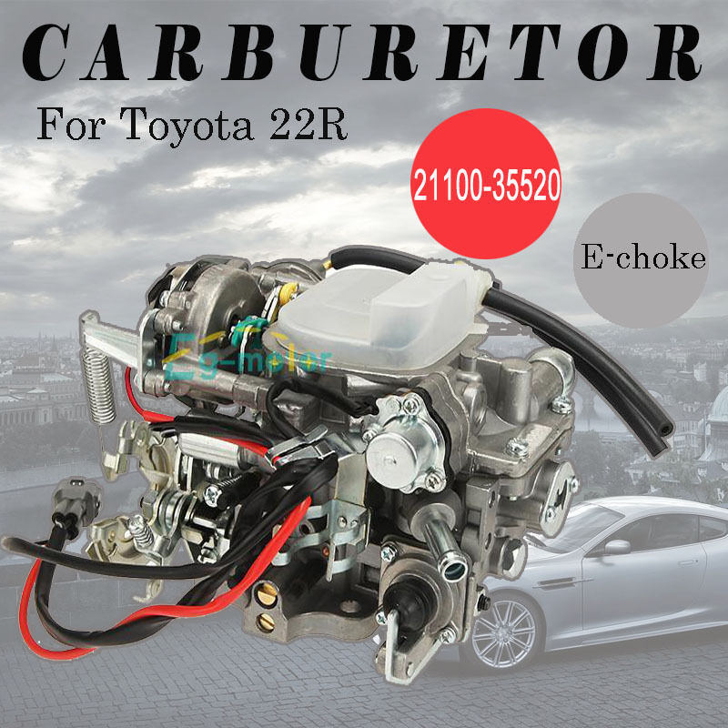 Carb For    Toyota       22R       Pickup    Carburetor Eclectic choke 4Runner Celica 2110035520   eBay