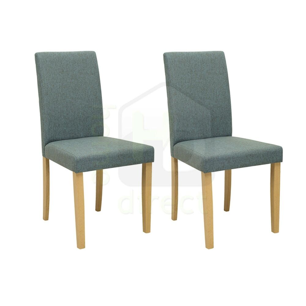2x lenore modern danish fabric scandinavian retro lounge for Retro modern dining chairs