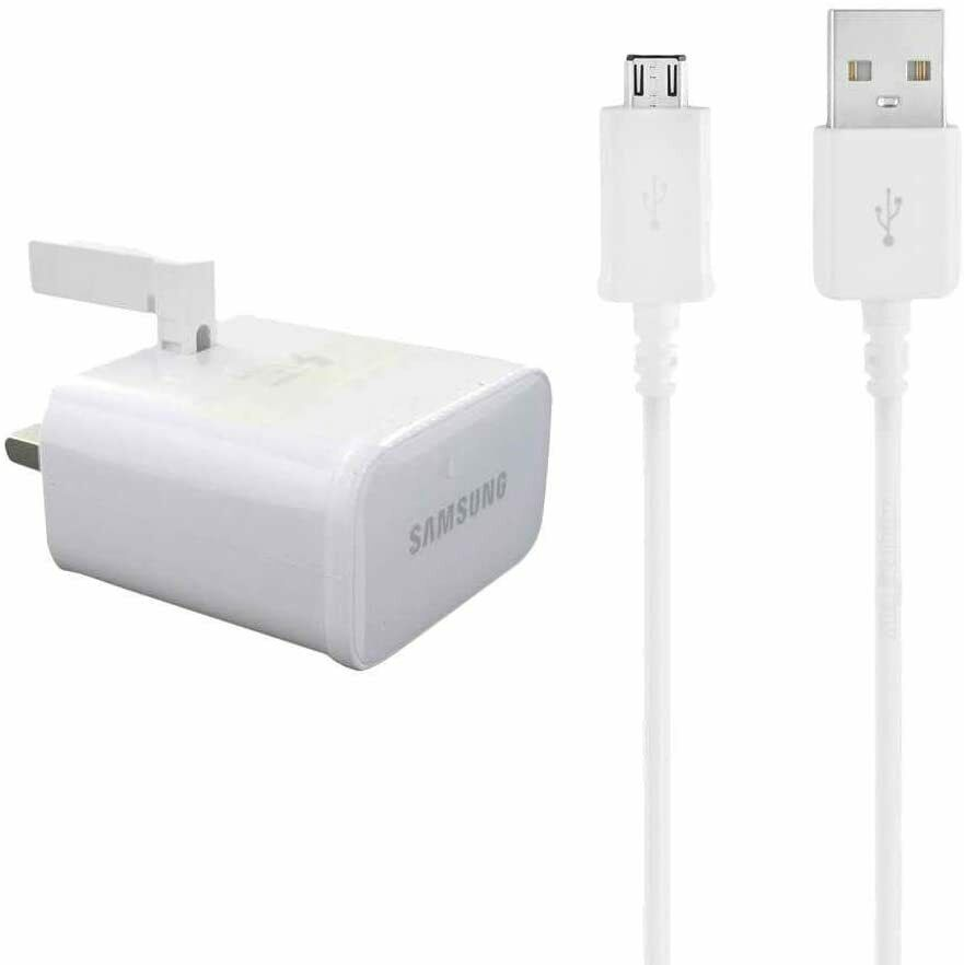 Genuine Samsung Galaxy S5 Note 3 Mains Charger Plug Head