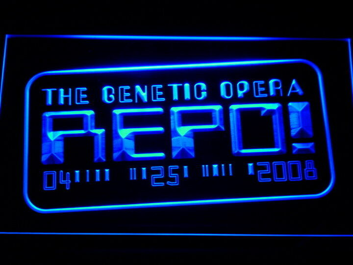 Man Cave Neon Signs For Sale : Repo the genetic opera led neon light sign man cave g b