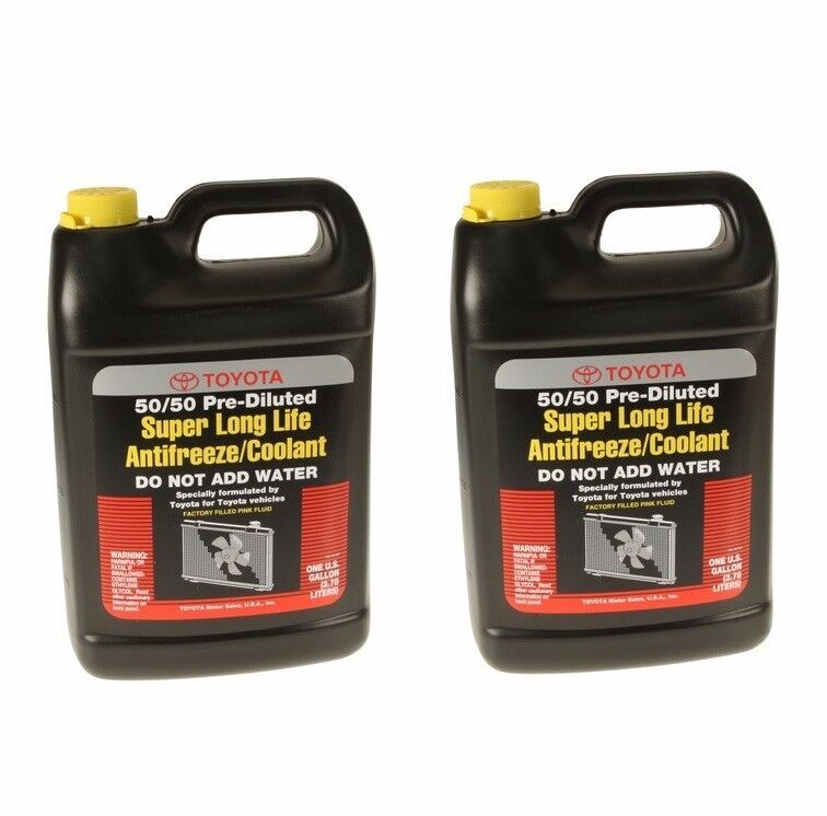 2 Gallons Genuine Engine Coolant Antifreeze Pink Super