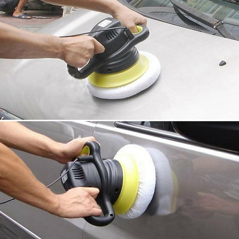 polishing bonnet buffer pad polish wax pads car home cleaning 9 10 inch 4pcs da ebay. Black Bedroom Furniture Sets. Home Design Ideas