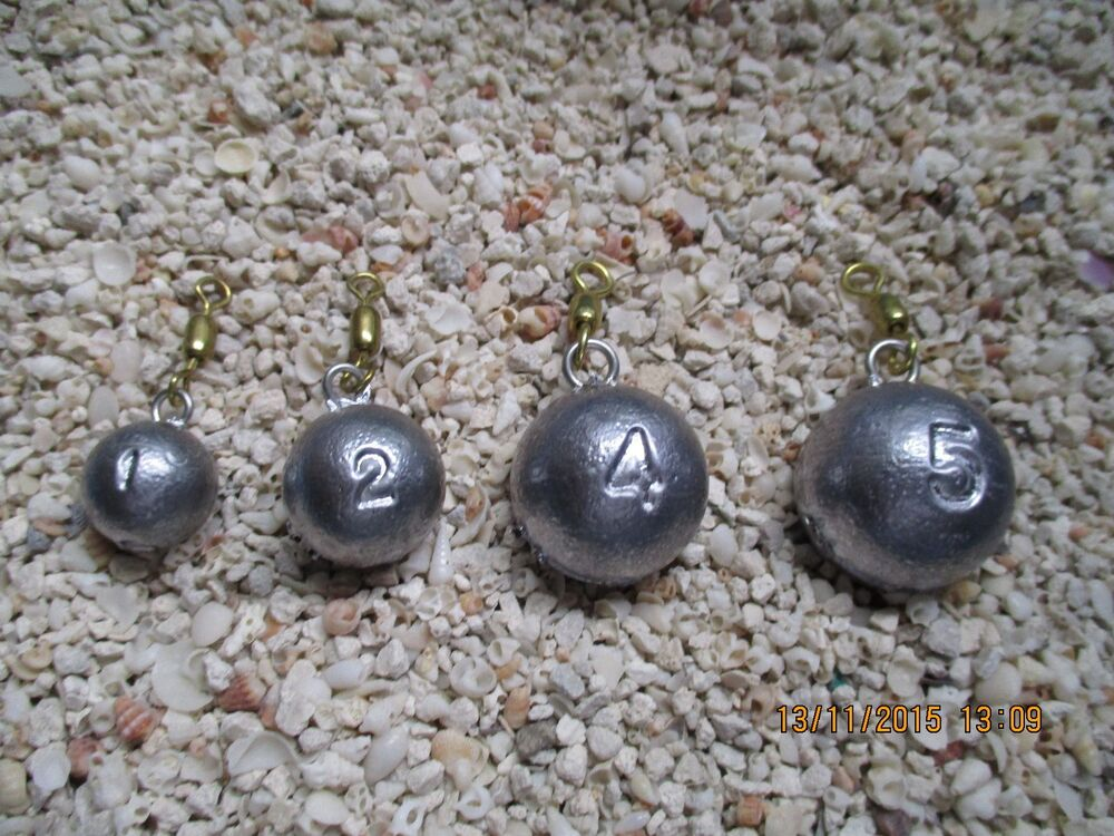 Cannon ball sinkers small sizes 1oz to 12oz ebay for Balls deep fishing sinkers
