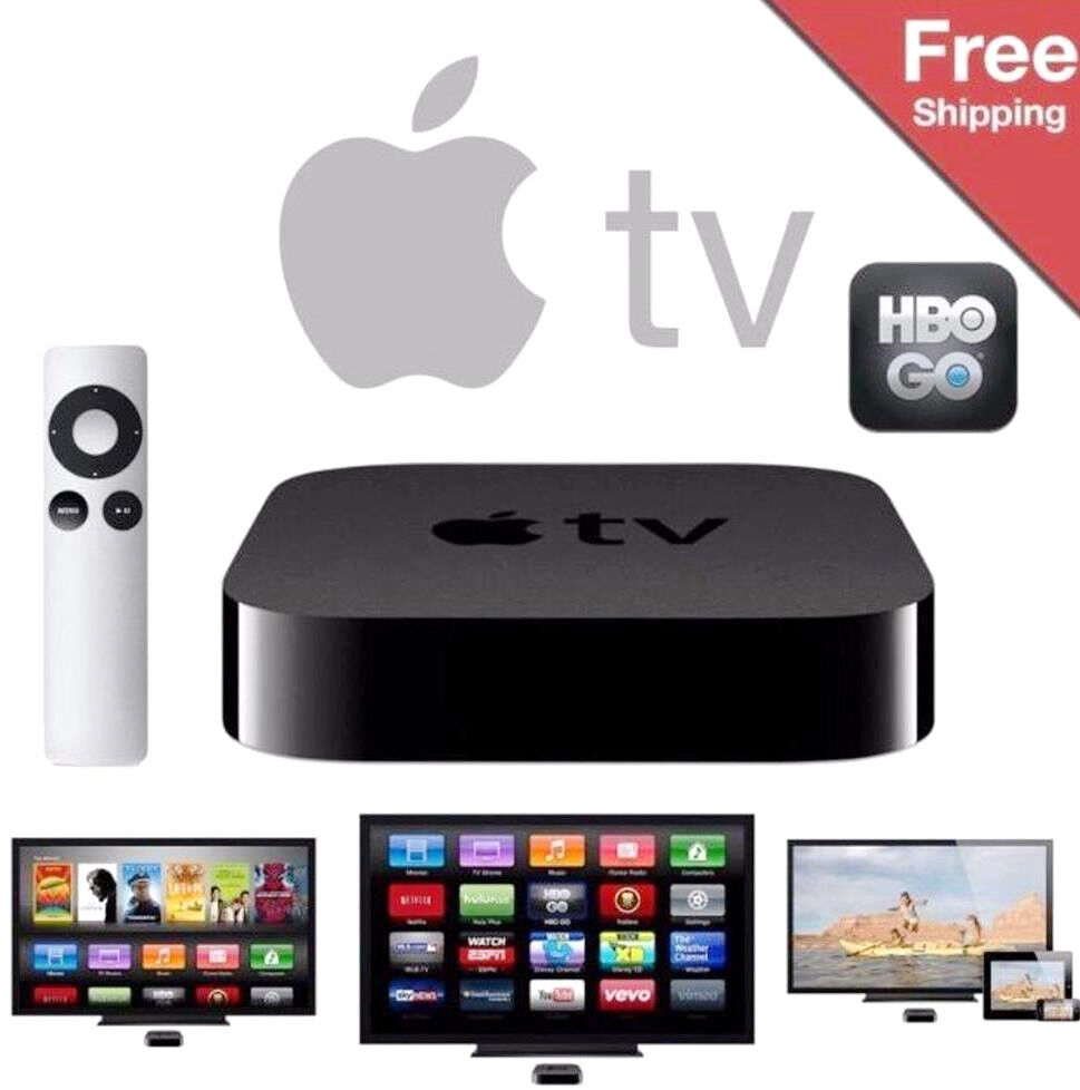NEW! Apple TV 3rd Gen Digital HD icloud Air Video Media ...
