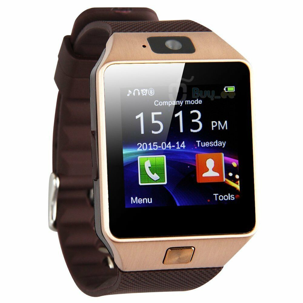 Camera Phone Watches Android dz09 bluetooth smart watch phone camera sim card for android ios phones ebay