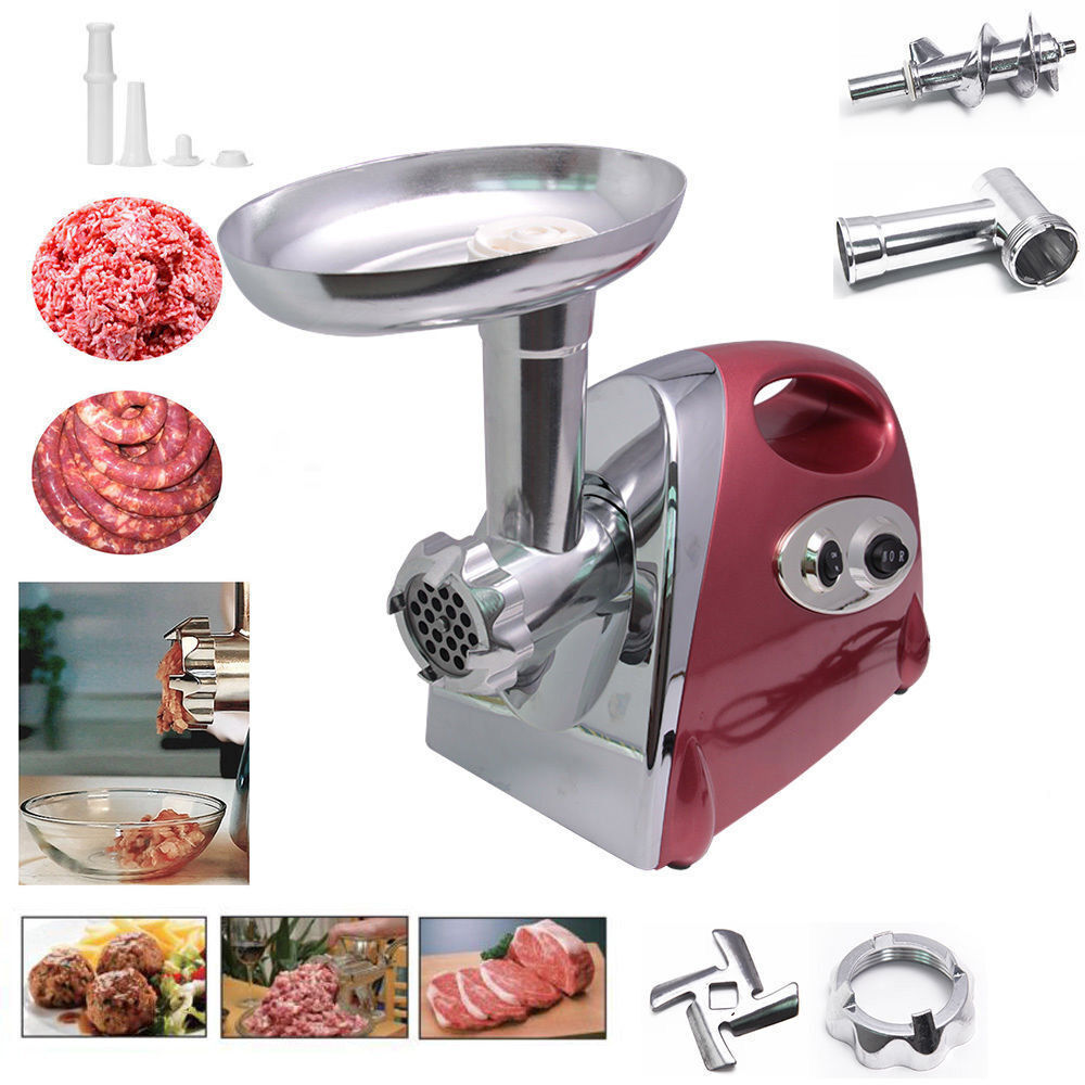 2800w Electric Meat Grinder Stainless Steel Sausage Filler