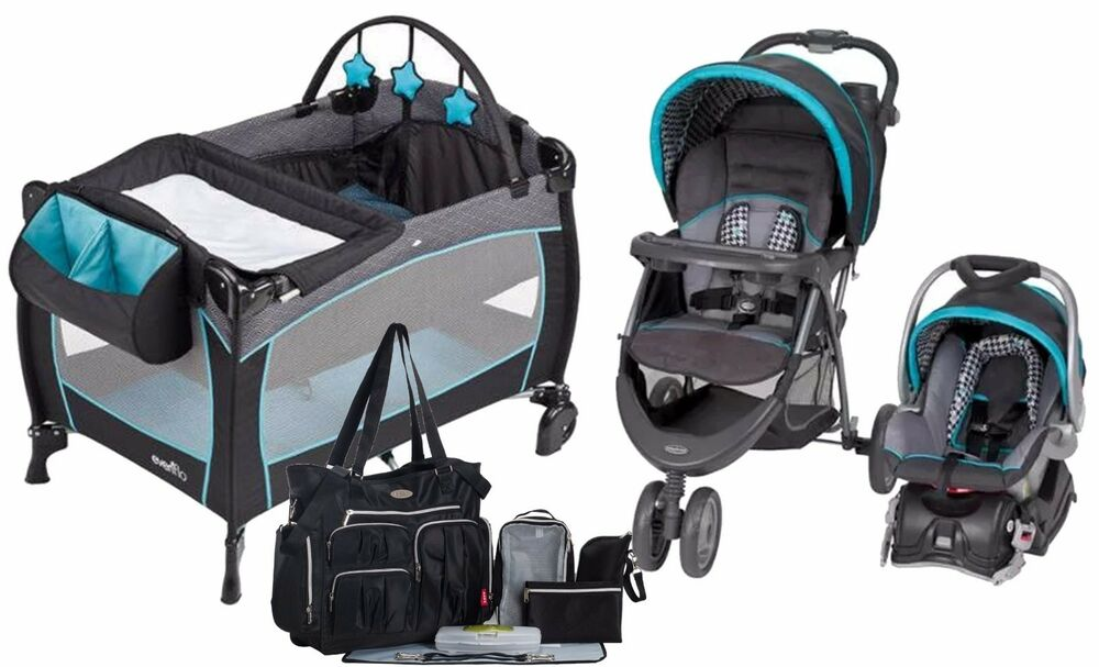 Baby Trend Stroller with Car Seat Travel System Evenflo ...