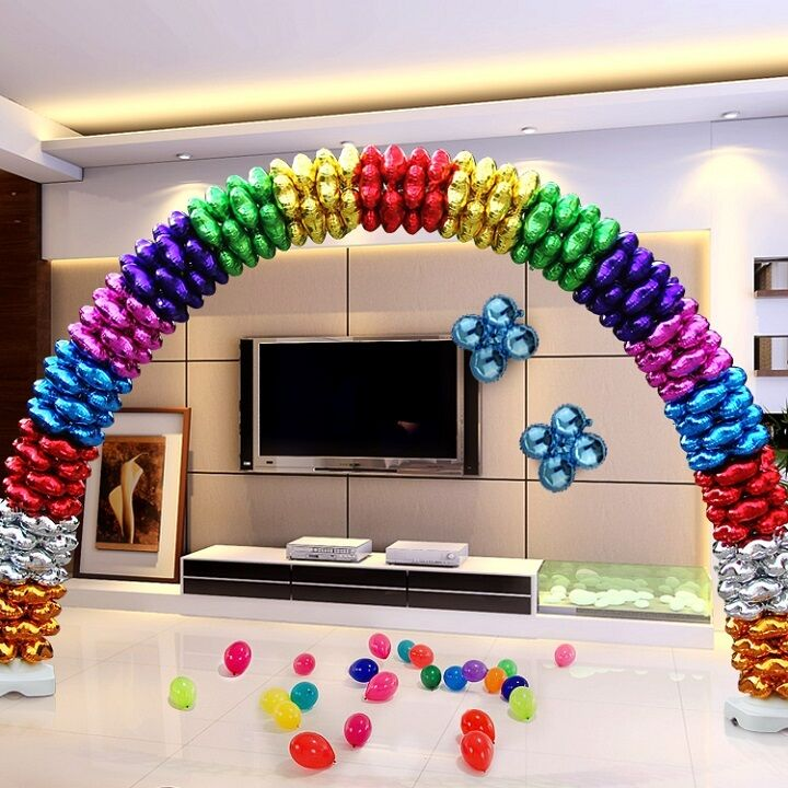 18 Inch Foil Balloons Heart Round Four Leaf Shape Make