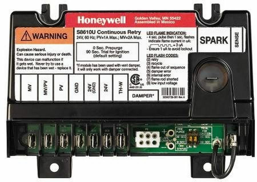 Honeywell Universal Intermittent Pilot Ignition Control